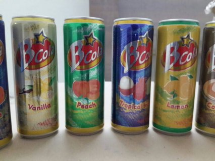 منتجات السعودية للتصدير ( بى كولا ) كولا بطعم الفواكه