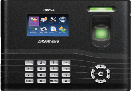 جهاز الحضور والانصراف (IN01- ZK software )للشركات والمصانع