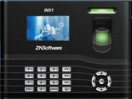 جهاز حضور وانصراف IN01- ZK software ببطاريه اضافيه