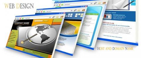 تصميم وحجز مواقع الانترنت