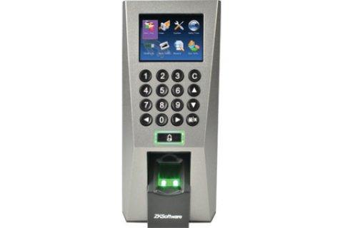 جهاز الحضور والانصراف (f18 - ZK software )للمواظفين والعاملين