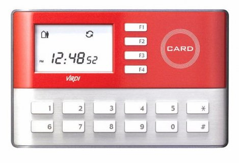 جهاز الحضور والانصراف (AC-1000-RF Virdi)للعالمين