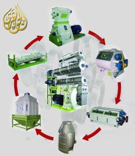 معدات تصنيع أعلاف