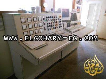 لوحة التحكم لمصنع اعلاف ٢٥ طن /ساعة