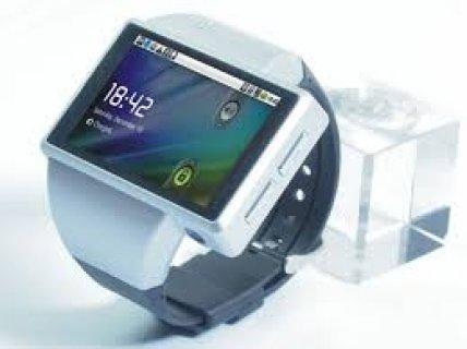 موبيل على شكل ساعة يد موبيل الساعة
