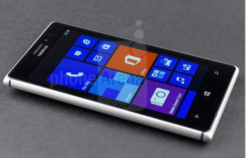 Nokia Lumia 925 sliver