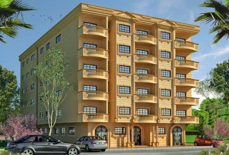 شقة 124م واجهة بالكامل بأجمل مواقع حدائق الاهرام قرب النادي