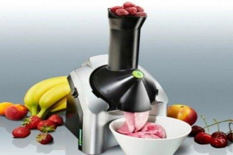 ماكينة عمل الايس كريم بالفواكهة من تميمة 01155050988