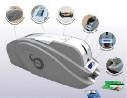 ماكينة طباعة الكارنيهات البلاستيكية