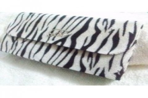 White Tiger Skin Print Forest Fure Velvet Women