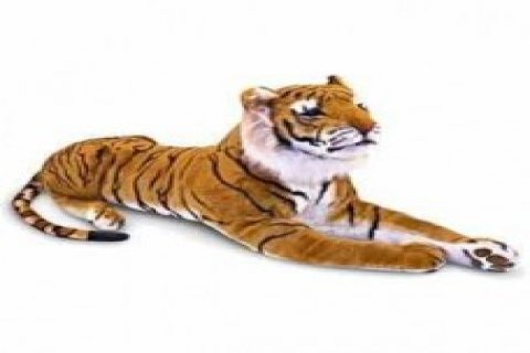 Soft Plush Tiger Toy
