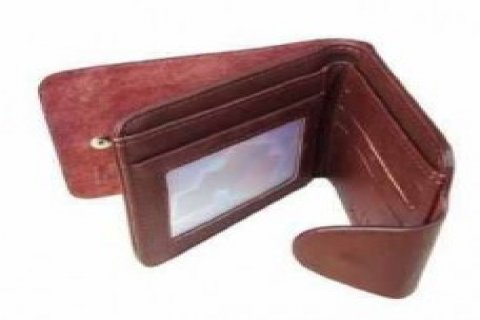 Vanity Eagle Sky Leather Wallet
