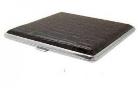 Valnita Leather Metal Cigarettes Case