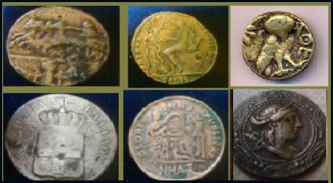 للبيع مجموعة عملات من عصر الرومان والبطالمه
