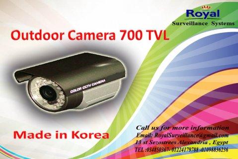 كاميرات مراقبة خارجية بجودة عالية 700  TVL