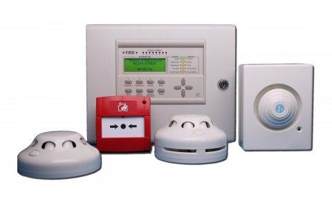 أجهزة نظام انذار ضد الحريق