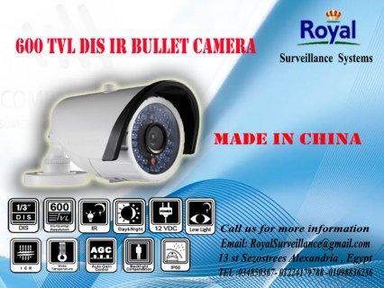 كاميرات مراقبة خارجية 600TVL  للمصانع رؤية ليلية حتى 20 متر
