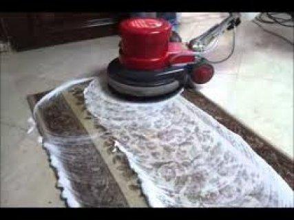 غسيل سجاد وتنظيف موكيت بالرغوة الجافة 01227294604 مصر