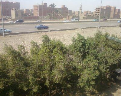مدينة الفيروز امام الطريق الدائري بالبراجيل