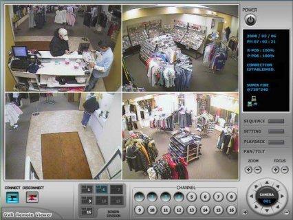 كاميرات المراقبة الالكترونية
