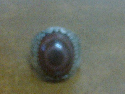 خاتم حجر سليمانى  نادر
