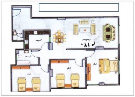 شقة مميزة 120 م بالبوابة الأولى