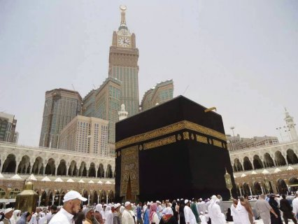عمرة النصف الأخير من رمضان و ختام الـقراُن مـ البسمة الذهبية ــن