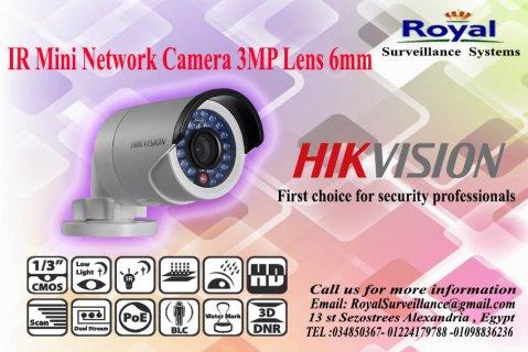 أحدث كاميرات المراقبة  IP خارجية3 MP  بعدسة mm6