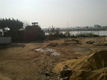 ارض للبيع علي النيل 1000 جنيه