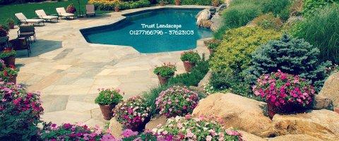 نجيلة صناعى - تنسيق حدائق - شركة تنسيق حدائق  ( تراست لاندسكيب )