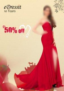 في 20 مايو ، كل فستان في www.edressit.com لبيع 50% خصوم حقا !