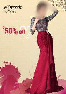 في 20 مايو ، كل فستان في www.edressit.com لبيع 50% خصوم