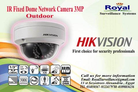 أحدث كاميرات المراقبة IP الخارجية 3 megapixel بعدسة mm4