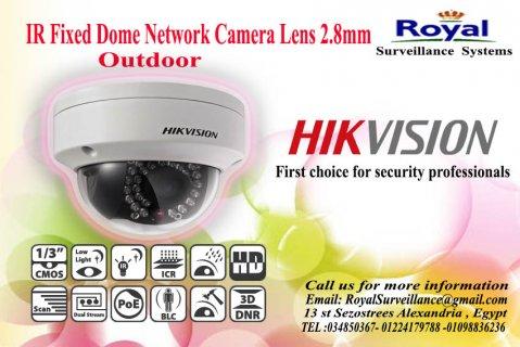 أحدث كاميرات المراقبة IP الخارجية 3 megapixel بعدسة mm2.8