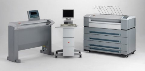 ماكينات تصوير المستندات و الرسومات الهندسية  OCE