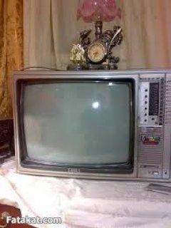 تليفزيون ملون 21بوصه ان اي سى تليمصر