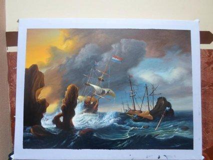 لوحات للفنان محمد زيد