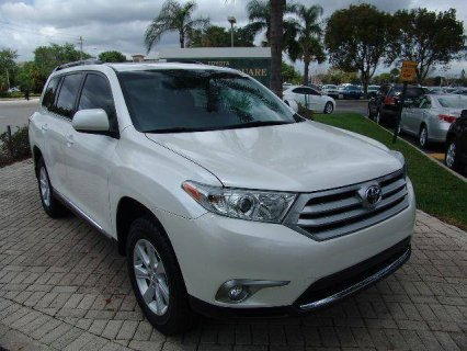 For Sale 2012 TOYOTA HIGHLANDER SE (White)