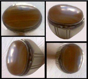 للبيع خاتم قديم من عقيق بلقيس
