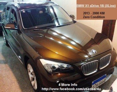 BMW X1 - 2013 بحالة الزيرو تماما كسر الزيرو