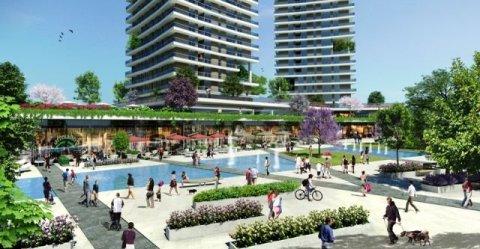مجمع سكني قمة في الحداثة و الروعة في اسطنبول للتملك أو الاستثمار