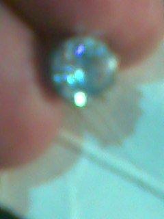 بيع فردة حلق نسائى من الماس