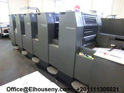 ماكينة HEIDELBERG SM 52-5-P2 مستعملة1