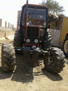جرار زراعي بيلا روس  موديل 2000قدرة 120حصان 1600 ساعة
