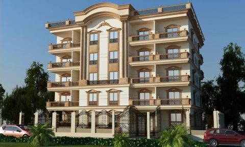شقة للبيع بواجهة امامية بحي اللوتس بالتجمع الخامس