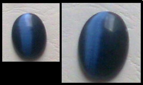 للبيع حجر من الأوبال الأزرق 14 قيراط