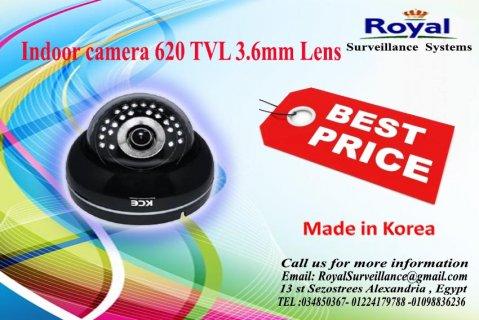كاميرات مراقبة داخلية كورية 620TVL