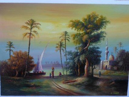 من لوحات محمد زيد