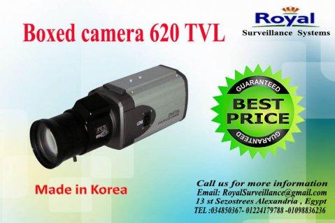 كاميرات مراقبة داخلية بجودة عالية620  TVL   صندوقية