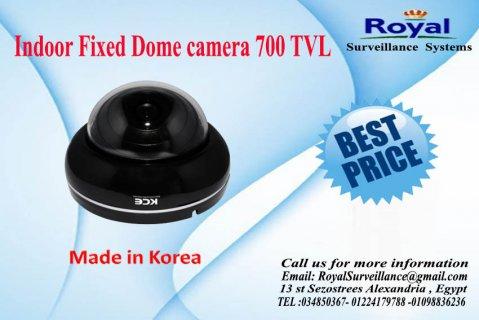 كاميرات مراقبة داخلية بجودة رائعة700  TVL  صناعة كورية